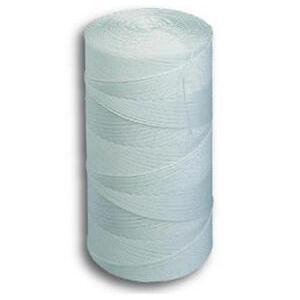 Bizline 0082 Twine, Spiral Wrap, Nylon, 1050', White