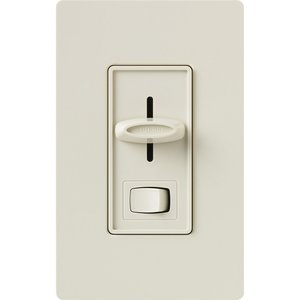 Lutron SCL-153P-LA Skylark LED/CFL Dimmer, Light Almond