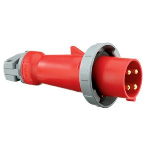 Hubbell-Kellems HBL460P7W Pin & Sleeve Plug, 60A, 3PH 480V, 3P4W
