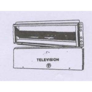 """Wire Guard Systems WG1020-TV Termination Cabinet, Exterior Mount, 14.5"""" x 4.5"""" x 1.625"""""""