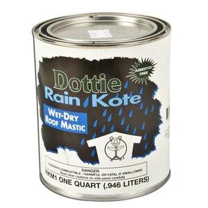 Dottie RKM1 Roof Mastic - 1 Quart Jug