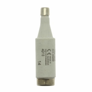Eaton/Bussmann Series 4D16 4 Amp DIN Style Type D Low Voltage Industrial Fuse, 500V, Brown, 6mm