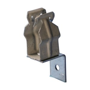 "Erico Caddy FB8P Through Stud Conduit Clamp, 1/2"", Steel"
