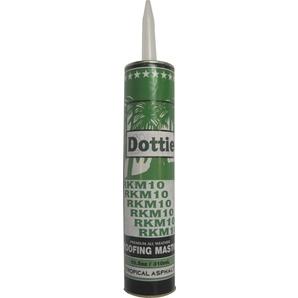 Dottie RKM10 Roof Mastic - 10.5oz Cartridge, For Caulking Gun