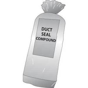 Cully 14300 Duct Seal Compound, 1 lb