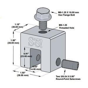 S-5! Attachment Solutions S-5-S-MINI Mini Clamp