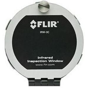 "FLIR IRW-3C 3"" IR Inspection Window, Aluminum"