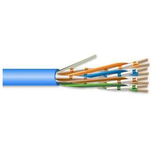 Tyco Electronics 5-1933047-6 Category 6 UTP Cable, CMP, 4-Pair, Blue, 1000'
