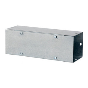 "Hoffman F66T124GV Wireway, Type 1, Screw Cover, 6"" x 6"" x 24"", Steel, Galvanized, No KOs"