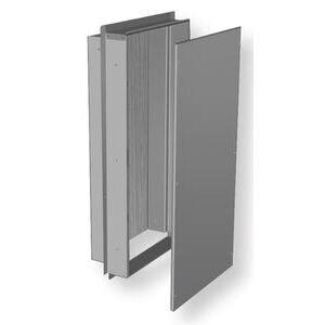 Benner Nawman BN14326WC-UL Nema 3R Semi-Recessed Cabinet, Low Voltage, 14x32x6-1/2