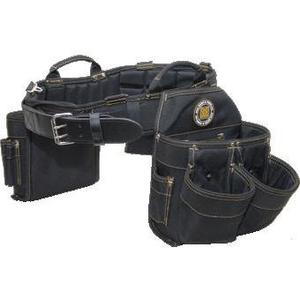Rack-A-Tiers 43244 9 Pocket Bag/Belt Combo - Size: X-Large