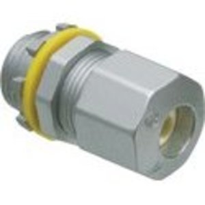 "Arlington UF50 UF Cable Connector, 1/2"", UF , Compression Type, Zinc Die Cast"