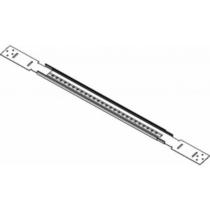 "Orbit Industries BHA-24 Adjustable Bar Hanger, 17 to 26"", Self Tapping Screws, Steel"
