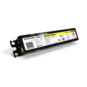Candela B260IUNVHP Electronic Ballast, Fluorescent, T12, 2-Lamp, 120-277V