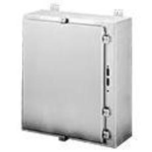 "Hoffman A48HS3712SSLP Enclosure, Type: Disconnect with Clamps, NEMA 4X, 48"" x 37"" x 12"""
