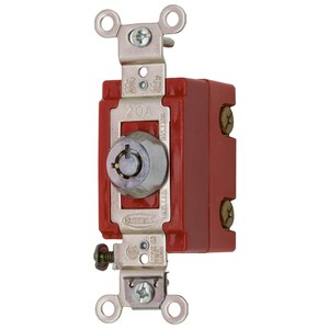 Hubbell-Kellems HBL1221RKL Single Pole, 20A 120/277V AC, Rotary Locking