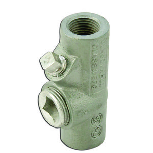 "Appleton EYF75-AL Sealing Fitting, Vertical/Horizontal, 3/4"", Explosionproof, Aluminum"