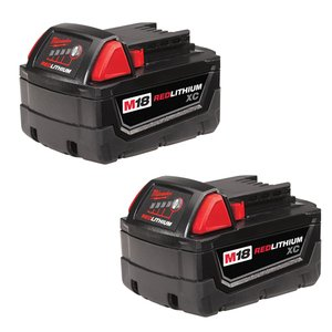Milwaukee 48-11-1822 M18 XC REDLITHIUM Battery 2-Pack