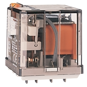 Allen-Bradley 700-HB33A1-3 Relay, Ice Cube, 11-Blade, 3PDT, 15A, 120VAC, Push to Test Option