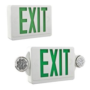 Lithonia Lighting LHQMLEDGM6 LED Emergency/Exit Sign, Green