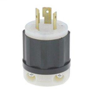 Leviton 2381 Locking Plug, 20A, 3PH 480V, 3P3W