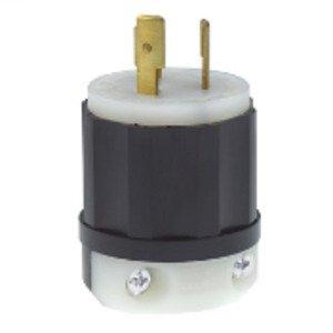 Leviton 2361 Locking Plug, 20A, 125/250V, 3P3W