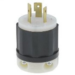 Leviton 2341 Locking Plug, 20A, 480VAC, 2P3W