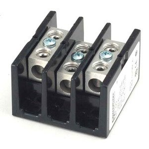 Marathon Special Products 1423572 Power Splicer Block, 175A, 600V, 3-Pole, (1) In/Out
