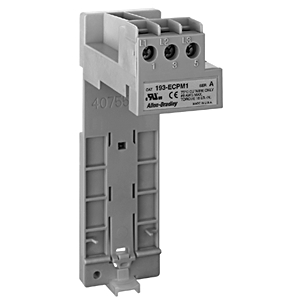 Allen-Bradley 193-ECPM3 Panel Mount, DIN Rail Adapters, for Overload Relays, 193-ECXE