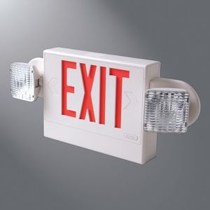 Cooper Lighting APH70RWHDHSQ Sure-Lites Combo Unit, White