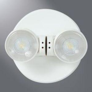 All-Pro Lighting APR2 Emergency Light, LED, Remote, 2-Head, .78W, 3.6V, White