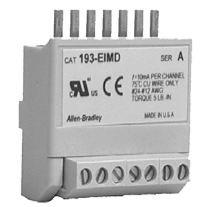 Allen-Bradley 193-EIMD Interface Module, 4-Point, AC Input, 110/120VAC