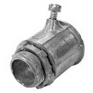 EGS SC-250 Flex Connector, Squeeze, Straight, 2-1/2 Inch, Die Cast Zinc