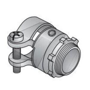 "EGS SC-100 Flex Connector, Squeeze, Straight, 1"", Die Cast Zinc"