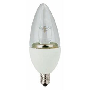 TCP LED4E12B1127K LED Lamp, Dimmable, B11, 4W, 120V, Candelabra Base