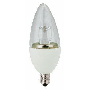 TCP LED5E12B1127K LED Lamp, Dimmable, B11, 5W, 120V, Candelabra Base