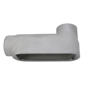 "Appleton LB250-A Conduit Body, Type: LB, Size: 2-1/2"", Form 85, Aluminum"