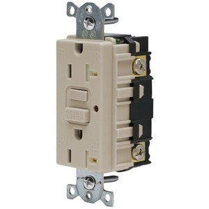 Hubbell-Wiring Kellems GFTR20AL 20A 125V COMM LED