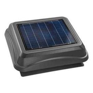 Broan 345SOWW Solar Powered Attic Ventilator, Weather Wood