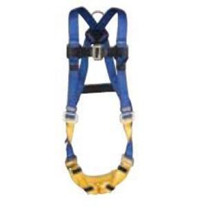 Werner Ladder H411002 Standard Safety Harness, Pass-Thru Legs