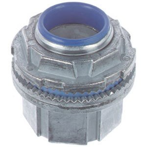 "Thomas & Betts H050-TB Conduit Hub, 1/2"", Insulated, Zinc Die Cast"