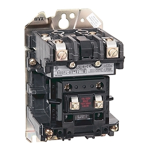 Allen-Bradley 500FL-DOD92 Contactor, Lighting, 100A, 600VAC, 120VAC Coil, 2P, 2NO Contacts