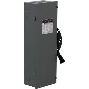Square D DTU323 Transfer Switch, Non-Fused, 100A, 240VAC, 250VDC, 3P, NEMA 1