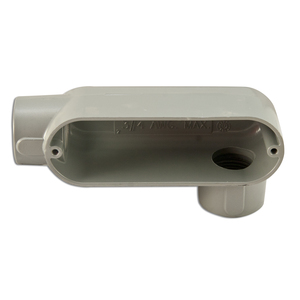 "Appleton LL100A Conduit Body, Type LL, 1"", Form 85, Aluminum"