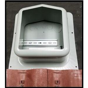 """Sola Deck 0766-41-AD AC/DC Combiner, 6"""" Deep, Nema 3R"""