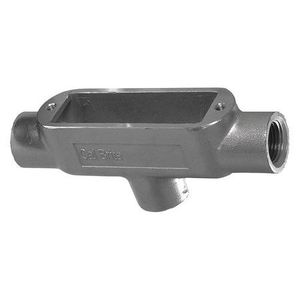 "Calbrite S61000TB00 Conduit Body, Type TB, 1"", Form 8, Stainless Steel"