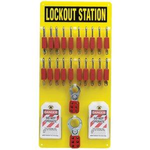 Brady 51189 20-LOCK BOARD WITH SAFETY