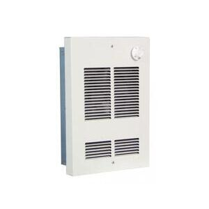 Berko SED2024 Fan-Forced Wall Heater, 2000/1500W, 240/208V, 50 CFM