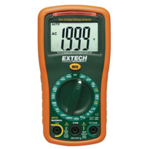 Extech EX310 Multimeter, Miniature, LCD