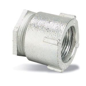 "Thomas & Betts 676 Rigid Three-Piece Coupling, 3/4"", Threaded, Malleable"